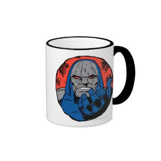Darkseid  Head Shot 2 Ringer Coffee Mug