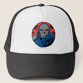 Darkseid  Head Shot 2 Trucker Hat