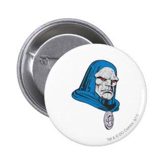 Darkseid Head Shot Pins
