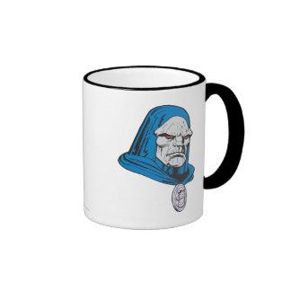 Darkseid Head Shot Ringer Coffee Mug