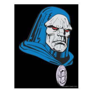 Darkseid Head Shot Postcard