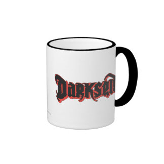 Darkseid Logo Ringer Coffee Mug