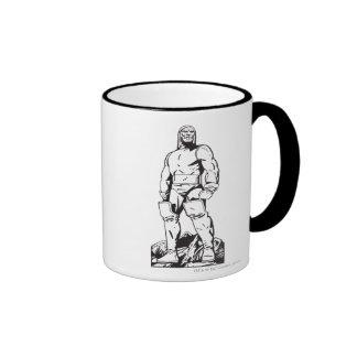 Darkseid Outline Ringer Coffee Mug