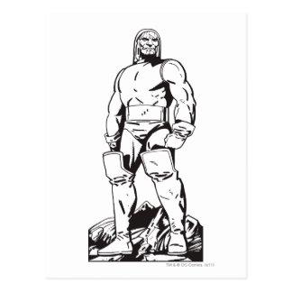 Darkseid Outline Postcard