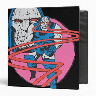 Darkseid Shoots Omega Beams Vinyl Binders