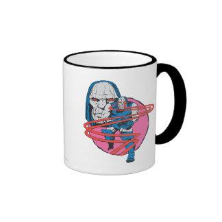 Darkseid Shoots Omega Beams Ringer Coffee Mug