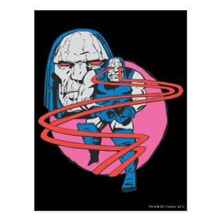 Darkseid Shoots Omega Beams Postcard