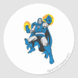 Darkseid & The Omega Force Classic Round Sticker
