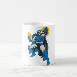 Darkseid & The Omega Force Classic White Coffee Mug