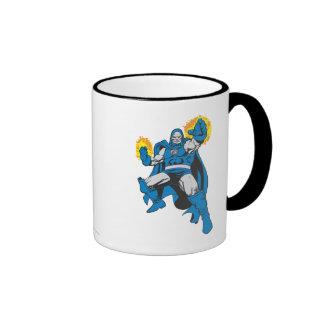 Darkseid & The Omega Force Ringer Coffee Mug