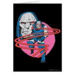 Darkseid tira los haces de Omega Tarjeta De Felicitación