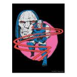Darkseid tira los haces de Omega Tarjetas Postales