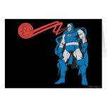 Darkseid Uses Psionic Powers Card