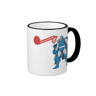 Darkseid Uses Psionic Powers Ringer Coffee Mug