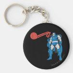 Darkseid utiliza los poderes de Psionic Llavero Redondo Tipo Pin