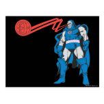 Darkseid utiliza los poderes de Psionic Postal