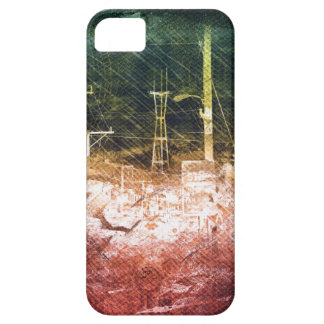 darkside san francisco exploding island gallery wr iPhone SE/5/5s case