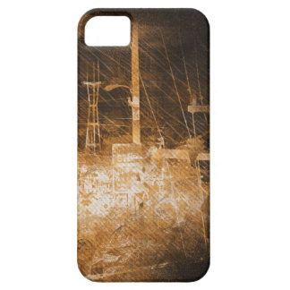 darkside san francisco exploding island iPhone SE/5/5s case