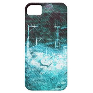 darkside san francisco exploding island iPhone SE/5/5s case