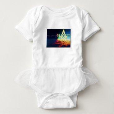 USA Themed darktolightmason baby bodysuit