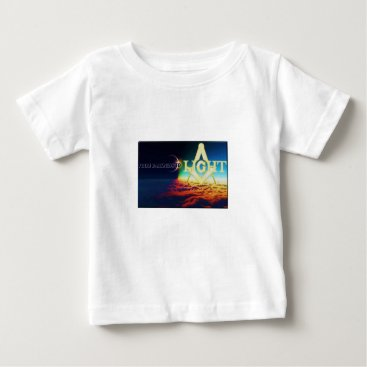 USA Themed darktolightmason baby T-Shirt