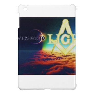 USA Themed darktolightmason case for the iPad mini