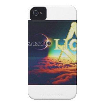 USA Themed darktolightmason iPhone 4 case
