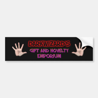 Darkwizard Gift & Novelty Emporium Bumper Sticker