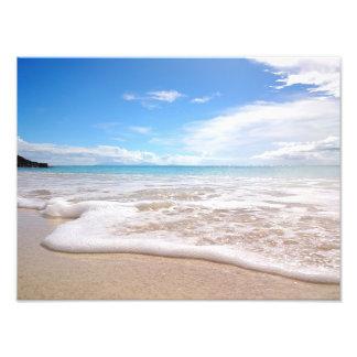 Darkwood Beach Waves print