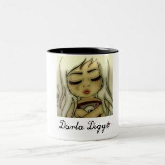 Darla Diggs Two-Tone Coffee Mug