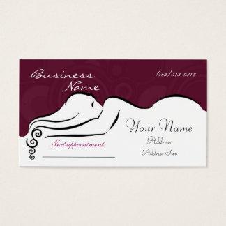 Darla's  [fuscia] Business Cards