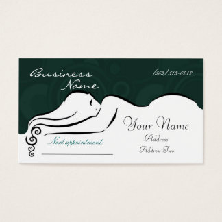 Darla's [green] Business Cards
