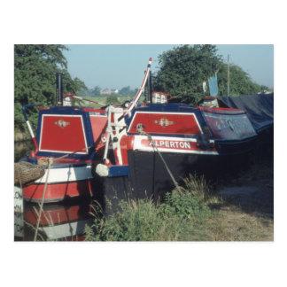 Darley and Alperton on the Shropshire Union Canal Postcard