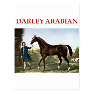 darley arabian post card