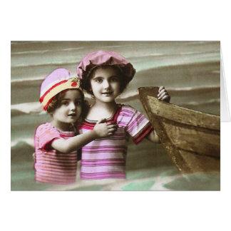 Darling Antique French Postcard Design