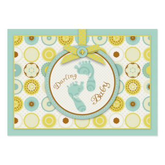 Darling Baby Toes Gift Tag Large Business Cards (Pack Of 100)