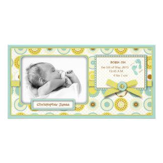 Darling Baby Toes Photo Card
