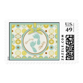 Darling Baby Toes Stamp B