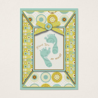 Darling baby Toes TY Gift Tag