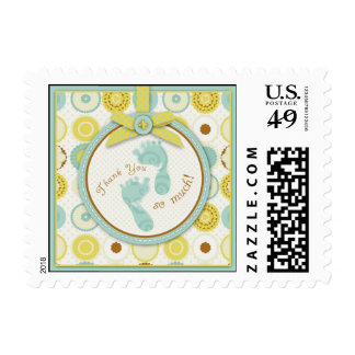 Darling Baby Toes TY Stamp B
