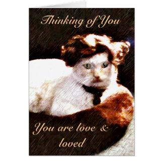 Darling,Cat_ Card
