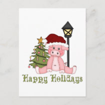 Darling Christmas Holiday Country Pig Tees, Gifts