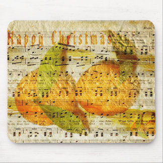 Darling Clementines for Christmas Mouse Pad