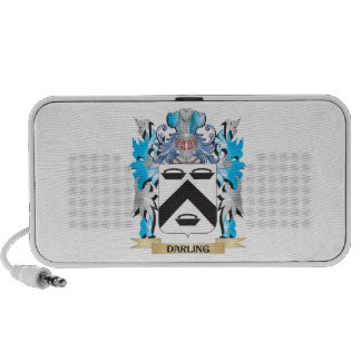 Darling Coat of Arms - Family Crest Travelling Speakers