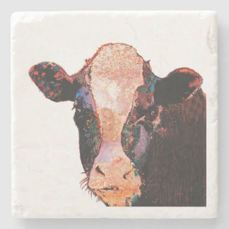 DARLING COW - Stone Coaster