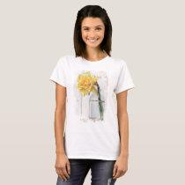 Darling Daffodil - New Balance T-Shirt, White T-Shirt