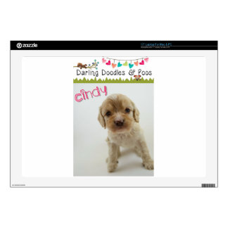 Darling Doodles & Poos Products Laptop Decals