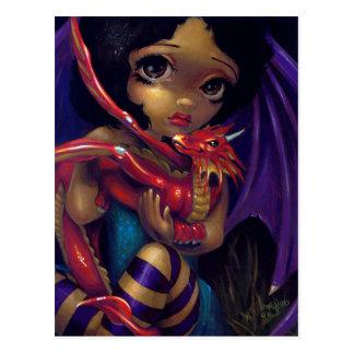 """Darling Dragonling I"" Postcard"