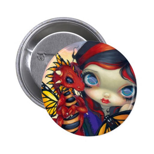 """""""Darling Dragonling III"""" Button"""