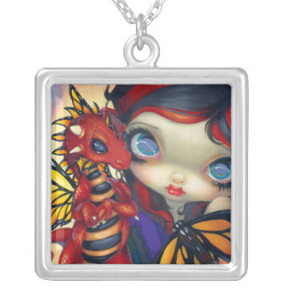 Darling Dragonling III NECKLACE dragon fairy